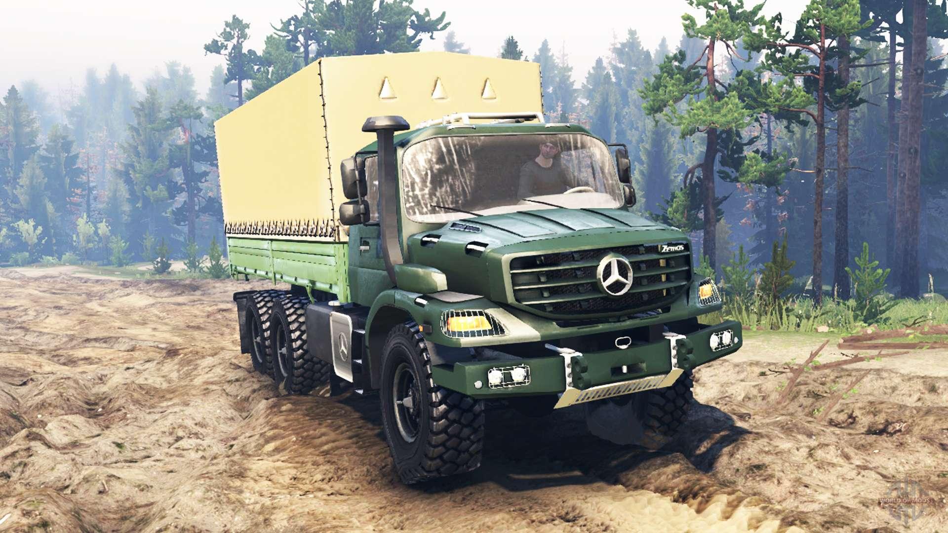 Mercedes-Benz Zetros 2733 A pour Spin Tires