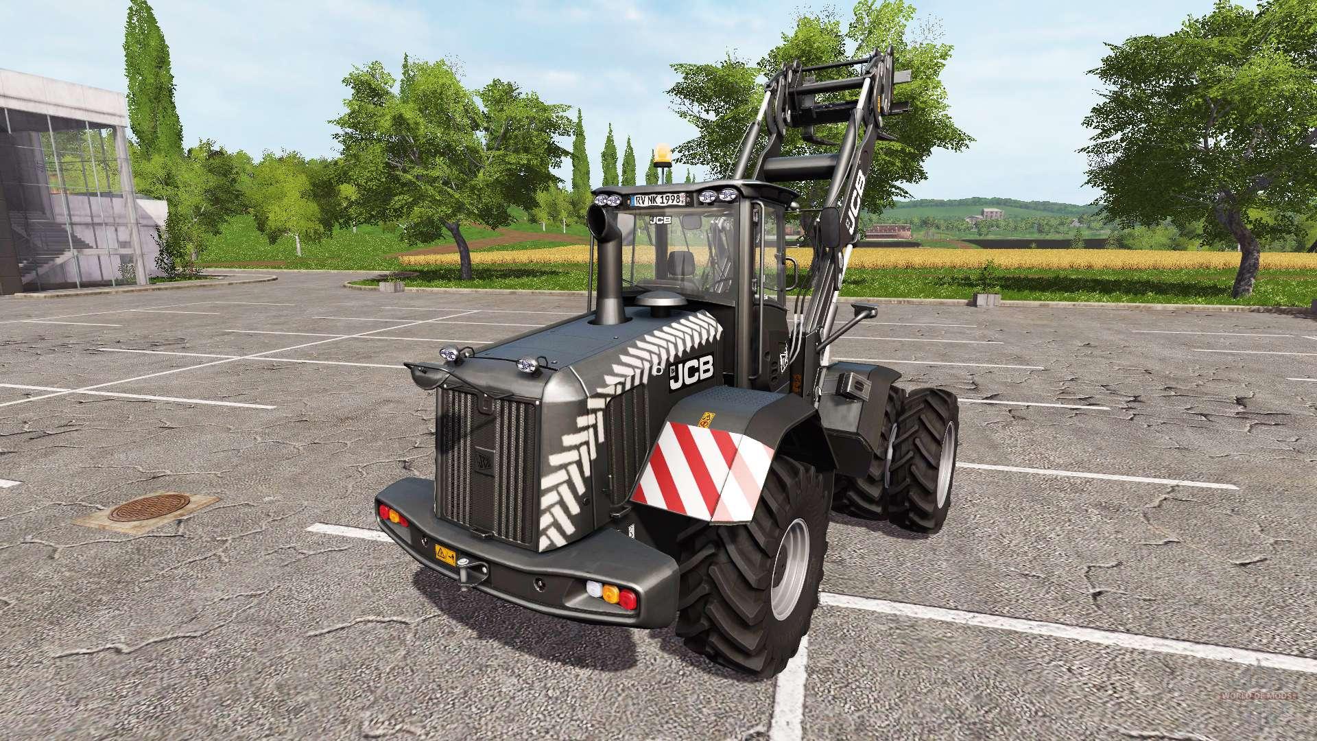 jcb 435s black pearl pour farming simulator 2017. Black Bedroom Furniture Sets. Home Design Ideas
