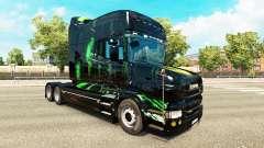 Monster Energy de la peau pour le Scania T tract