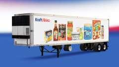 Haut-Heinz Kraft auf den trailer