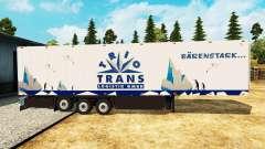 Semitrailer refrigerator Schmitz Trio Trans