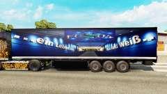 La peau FC Schalke 04 sur le semi