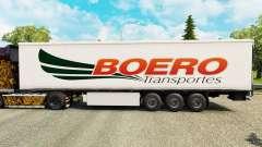 Boero Transportes de la peau pour les remorques