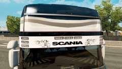 Sonnenblende Scania v2.0