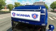 La publicité boîte à lumière pour Scania