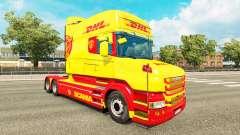 Haut DHL für Scania T truck