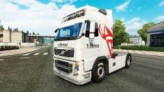 Viking Express de la peau pour Volvo camion