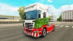 La peau ETS2Studio sur tracteur Scania