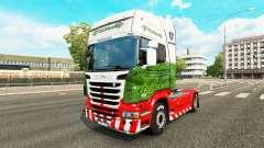 Haut ETS2Studio auf Zugmaschine Scania