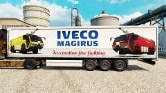 La peau Iveco Magirus pour les remorques