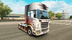 Haut-WM 2014 auf Zugmaschine Scania