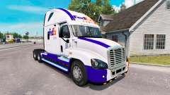 La peau sur la FedEx camion Freightliner Cascadi