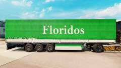 Haut Floridos für Anhänger
