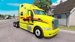 La peau Decker sur les camions Peterbilt 387