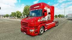 Skin-Scania-Geschichte auf die LKW-Scania T