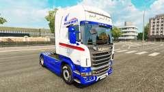 Haut für Mammut Traktor Scania
