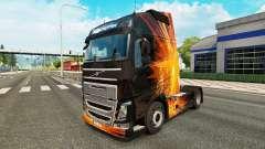 Cubique, les Reflets de la peau pour Volvo camio