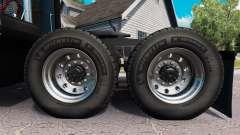 De nouvelles jantes et des pneus