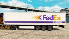 FedEx Express de la peau pour les remorques