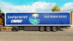 La peau Saudi Arabian Airlines pour remorques