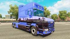 Euro-Trans skin für Scania T truck
