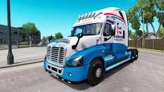 Скин Amérique du Nord на Freightliner Cascadia