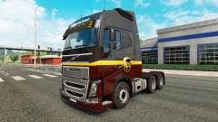 UPS de la peau pour Volvo camion