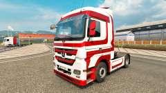 Haut-Metallic für Traktor Mercedes-Benz