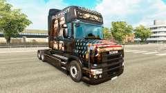 La peau du Canard Dynastie pour camion Scania T