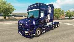 Wolf-skin für den truck Scania T