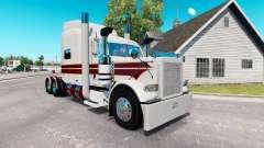 Die White Knight skin für den truck-Peterbilt 38