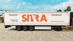 Sitra Haut für Vorhangfassaden semi-trailer