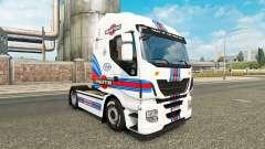 Martini Racing de la peau pour Iveco tracteur