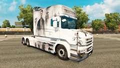 Piraten-skin für den truck Scania T