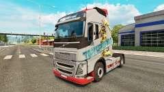 Les transformateurs de la peau pour Volvo camion