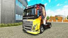 Haut Magischen Momente, die bei Volvo trucks