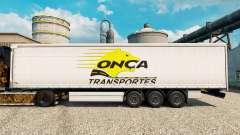 Onca Transportes Haut für Anhänger