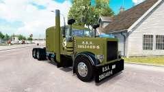WW2 Clean skin für den truck-Peterbilt 389