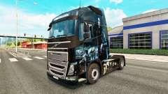 Pègre de la peau pour Volvo camion