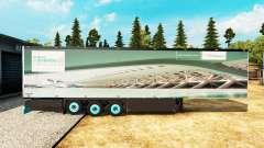 Semitrailer refrigerator Schmitz Siemens