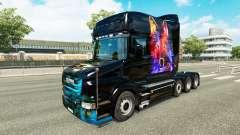 Wolf Haut v2 für Scania T truck