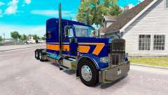 Скин Rollin Transport v1.1 на Peterbilt 389
