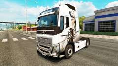 Sexy Fantasme de la peau pour Volvo camion