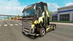 Die Haut der tödlichen Sturm bei Volvo trucks