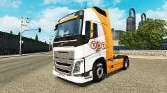 TNT de la peau pour Volvo camion