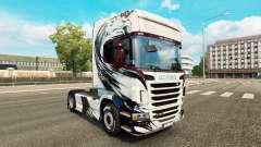 Haut Exclusivo auf Zugmaschine Scania