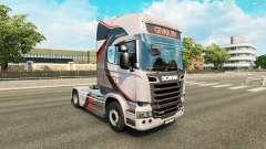 GiVAR BV de la peau pour Scania camion