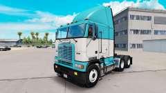 La peau de Bébé Bleu camion Freightliner FLAG