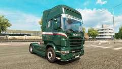 Wallenborn de la peau pour Scania camion
