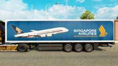 Singapore Airlines skin für Trailer